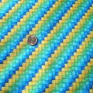 Multicolor Check Blue Green Yellow KP Kids Fabric