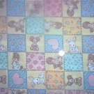 Precious Moments Blocks Kids Quilt Fabric