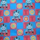 Thomas the Train Blocks Backer Kids Quilt Fabric