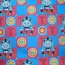 Thomas the Train Blocks Backer Kids Quilt Fabric