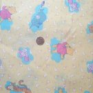 Winnie the Pooh Piglet Kids Backer Quilt Fabric OOP