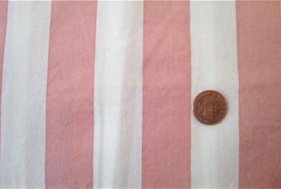 Mauve and White Stripe Quilt Fabric