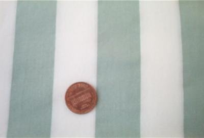 Sage Green and White Striped Quilt Fabric
