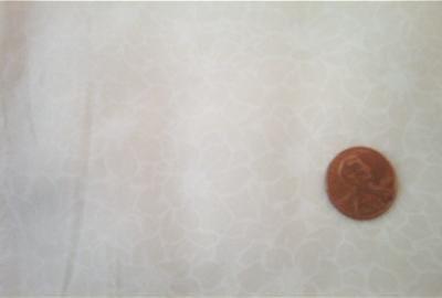 """1 YD 4"""" Beige on Beige Quilt Fabric"""