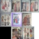 9 Vintage Pants Skirts Patterns Size 14 10 Uncut