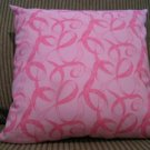 The PINK RIBBON Pillow