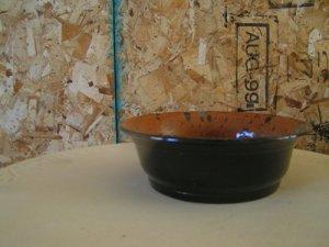 Black Oriental Carmel Bowl