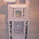 Cat Condo Furniture, Scratching post, Tower, Gym, ZEBRA DESIGN - WOW