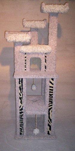 Cat Condo Furniture, Scratching post, Tower, Gym, ZEBRA DESIGN - WOW