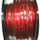 20 FT 4 GAUGE RED POWER WIRE LOW RESISTANCE economy