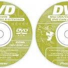 Pioneer AVIC EastWest GPS Upgrade Navigation DISK DISC