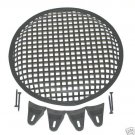 """ONE NEW 12"""" STEEL WAFFLE SPEAKER SUB GRILL WITH CLIPS"""