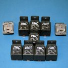 10 PACK 12V DC 50A/40A Car Auto Relay SPDT Bosch Style