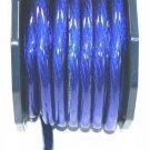 0 GAUGE BLUE POWER WIRE SUPERFAT per ft 100%COPPER IMC
