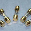 AGU FUSES 5 PACK 20 30 40 50 60  80 amp GOLD PLATED 20