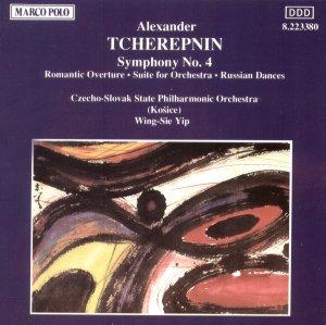 Alexander Tcherepnin Romantic Overture Symphony No 4 Russian Dances Marco Polo 8.223380