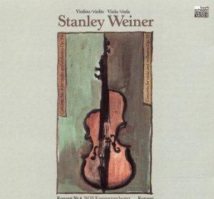 Weiner: Violin Concerto No. 4, Op. 54; Viola Concerto, Op. 78 Stanley Weiner CD