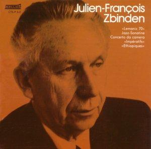 Julien-Francois Zbinden Overture Jazz-Sonatine Grammont CTS-P 3-2