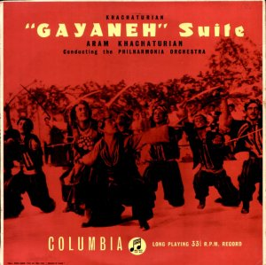 "Aram Khachaturian ""Gayaneh"" Suite UK Columbia EMI 33C 1041 NM"