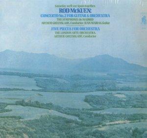 ROD MCKUEN GUITAR CONCERTO / Greenslade, Juan Marias Still Sealed M LP SR 9006