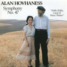 ALAN HOVHANESS SYMPHONY 47 WALLA LAND OF MANY WATERS RARE FUJIHARA 1003 MINT LP