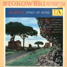 LEOPOLD STOKOWSKI RESPIGHI Pines of Rome United Artists UAS 8001 STEREO LP