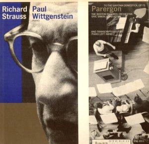 Paul Wittgenstein Strauss Parergon Sinfonia Domestica Eric Simon Boston BST-1011