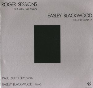 PAUL ZUKOFSKY SESSIONS BLACKWOOD VIOLIN SECOND SONATA Mint Still Sealed CP2 Musical Observations LP