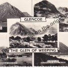 Glencoe The Glen of Weeping - Mauritron Postcard #375