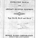 BENDIX RA1 Service Manual with Schematics Circuits on Mauritron CD