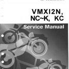 YAMAHA VMX12KC Service Manual with Schematics Circuits on Mauritron CD
