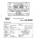 Akai AXM400 Service Manual. From Mauritron