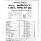 Denon AVR5800 Service Manual. From Mauritron