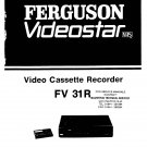 Ferguson FV31R Service Manual. From Mauritron