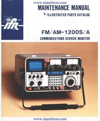 ifr 1200s service manual pdf