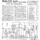 Philco 269 Technical Repair Manual Mauritron