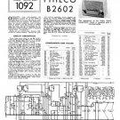 Philco B2602 Technical Repair Manual Mauritron