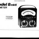 AVO Model 8 Mk 6 Meter Instructions. mts#17