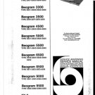 B & O Beogram 3300 Service Manual mts#30