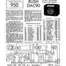Bush DAC90 Vintage Service Circuit Schematics mts#74