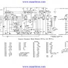 Bush DUG3 Vintage Service Circuit Schematics mts#78