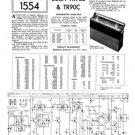 Bush TR90B Vintage Service Circuit Schematics mts#106