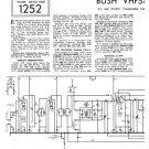 Bush VHF54 Vintage Service Circuit Schematics mts#124