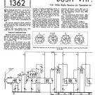 Bush VHF90A Vintage Service Circuit Schematics mts#133