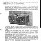 Leak Point One Stereo Schematics Service Circuits mts#169