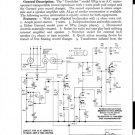 Hacker Gondolier GP42 Service Manual Schematics. mts#194