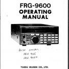 Yaesu FRG9650 Operating Guide. Mauritron#475