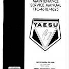 Yaesu FTC4625 Service Manual. Mauritron#478