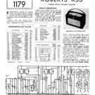 Roberts R55 Service Schematics. Mauritron#534