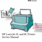 HP 5L Service Manual. Mauritron#582